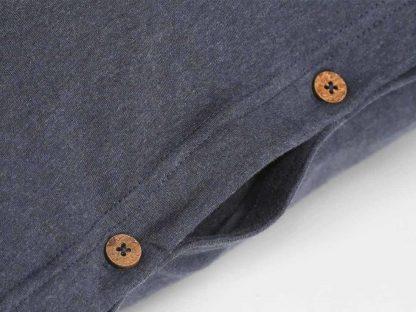 Yumeko dbo jersey indigo blue detail