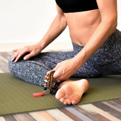 eco yogamat groen meditatie
