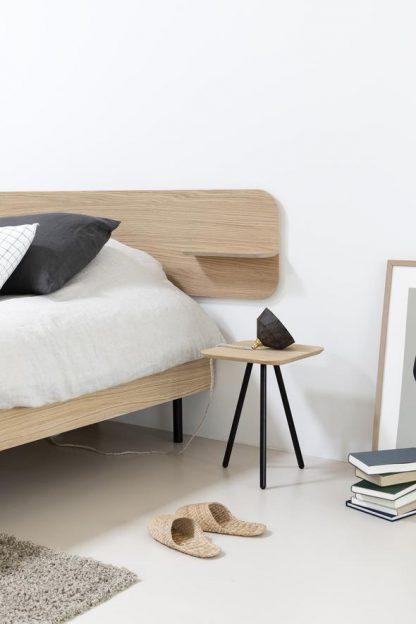Loof bed frame met tafeltje