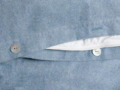 Yumeko dbo velvet flanel light blue detail