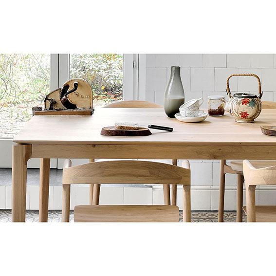 Remarkable Ethnicraft Bok Dining Table Oak Ncnpc Chair Design For Home Ncnpcorg