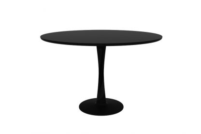 (127 cm) Ethnicraft Torsion dining table - Black