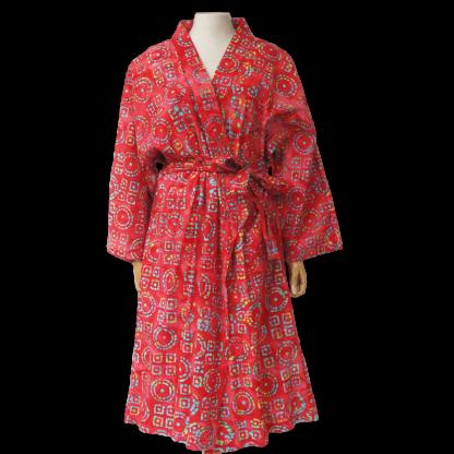 Kimono Batik Rood