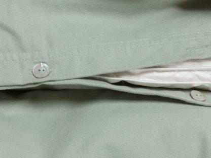 Yumeko dbo velvet flanel pale green detail