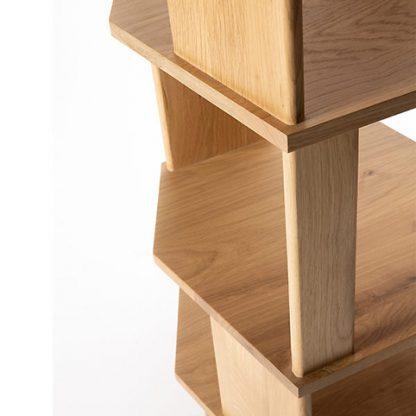 ethnicraft oak stairs column
