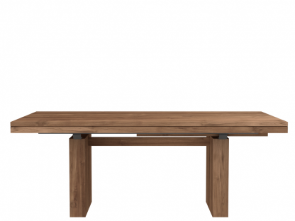 12066 Double extendable dining table - Teak