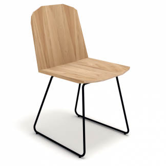27046 Facette chair - Oak (2)