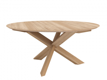 50164 Circle dining table - Oak