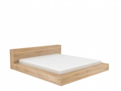 51201 Madra bed - Oak (2)