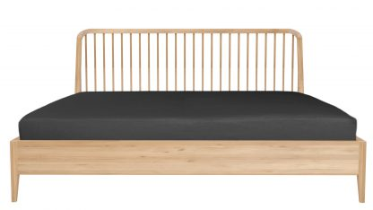 51246 Spindle bed - Oak