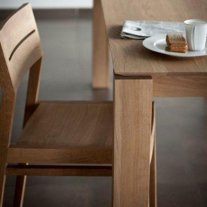Ethnicraft slice dining table mood