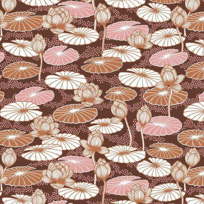Gyllstad lotus brown pink