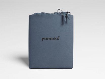 Yumeko dbo gewassen katoen satijn blue 2