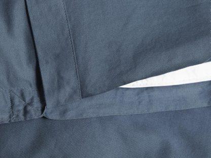 Yumeko dbo gewassen katoen satijn blue detail