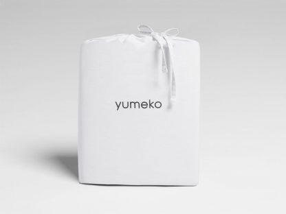 Yumeko dbo gewassen katoen satijn wit
