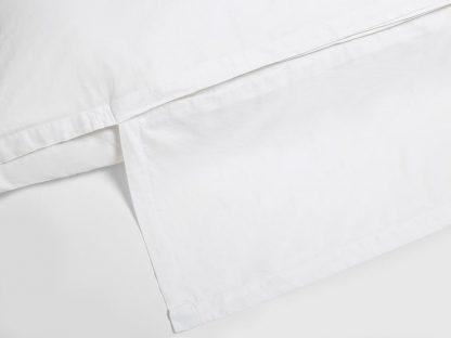 Yumeko dbo gewassen katoen satijn wit detail
