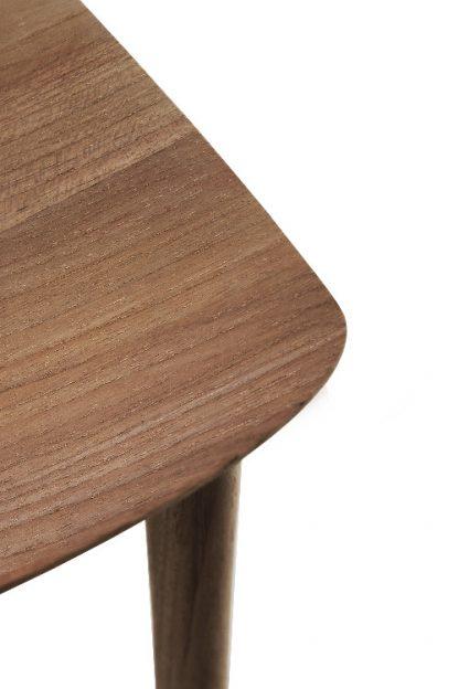 10156 Teak Bok dining chair - without armrest_det