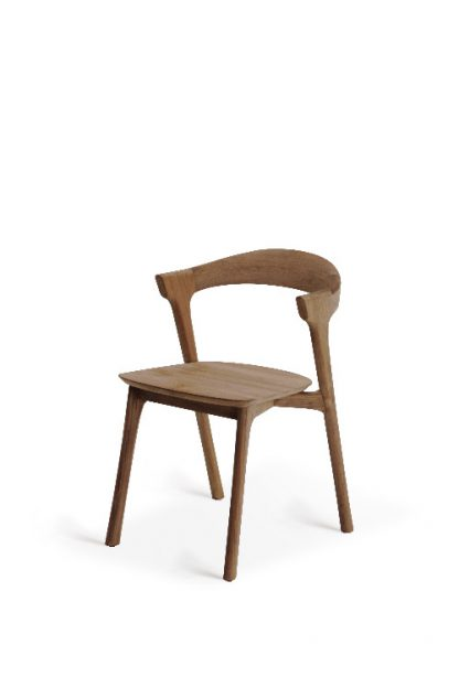 10156 Teak Bok dining chair - without armrest_p