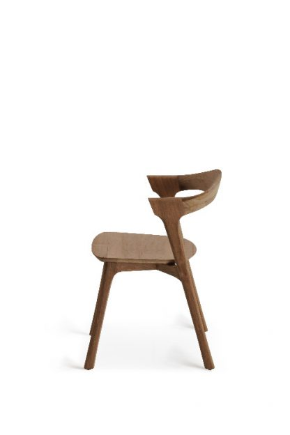 10156 Teak Bok dining chair - without armrest_s