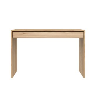 51456 Oak Wave office console - 1 drawer_f