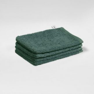 Yumeko washandjes forest green