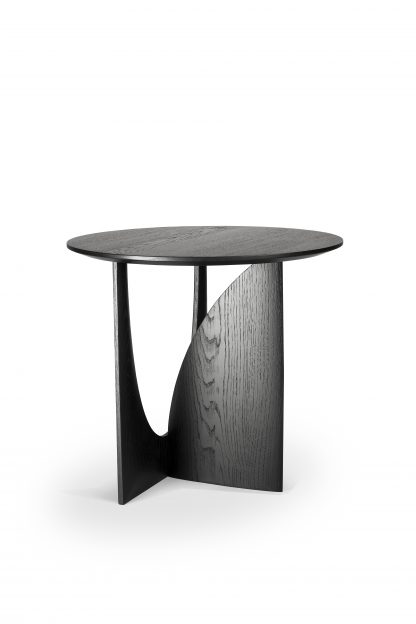 50536 Oak Black Geometric side table (2)