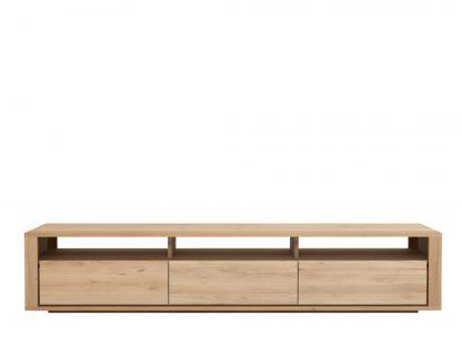 51376 Oak Shadow TV cupboard - 3 drawers_f