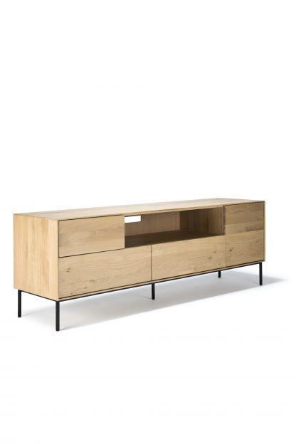 51466 Oak Whitebird TV cupboard