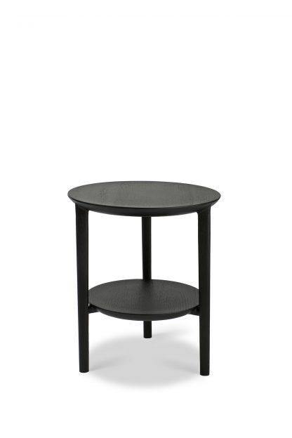 51510 Oak Black Bok side table