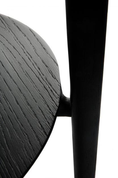 51510 Oak Black Bok side table_det1