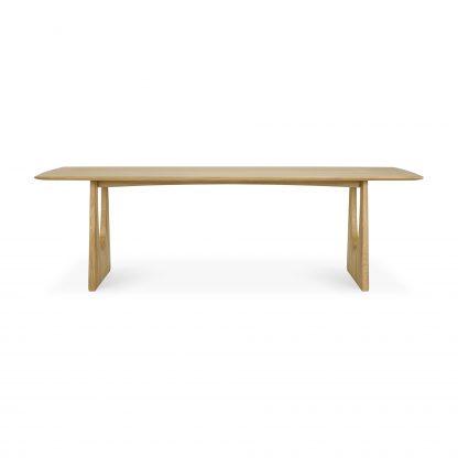 55013_Oak_Geometric_dining_table_front_cut_web